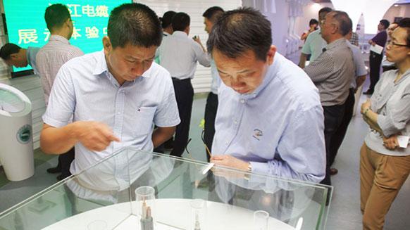 长沙市委领导考察湘江电缆高压电力电缆生产工作