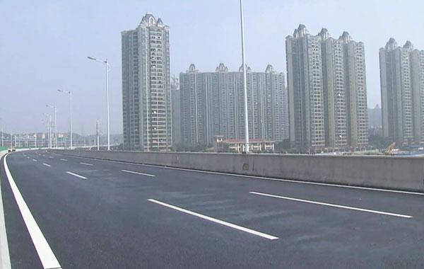 湘江低压电力万博体育app手机登录合作万家丽高架桥显实力