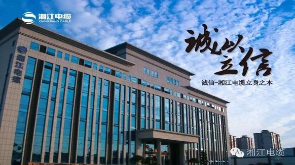 湘江电缆荣膺全球湘商《十大诚信企业》称号