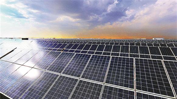湘江电缆光伏电缆与拓日新能共建陕西榆林定边光伏发电项目