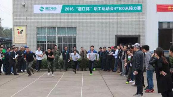 青春飞扬的赛场——湘江电缆2016年职工运动会纪实