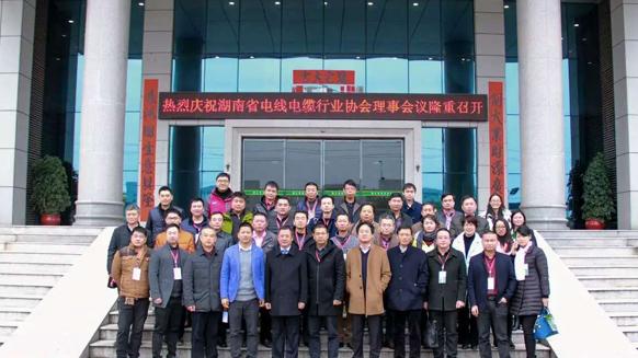 湖南省电线电缆行业协会理事会议在湘江电缆召开