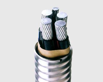聚氯乙烯护套联锁铠装铝合金电缆
